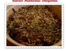 Gemüse: Mediteranes Ofengemüse mit Speck und Käse - Rezept