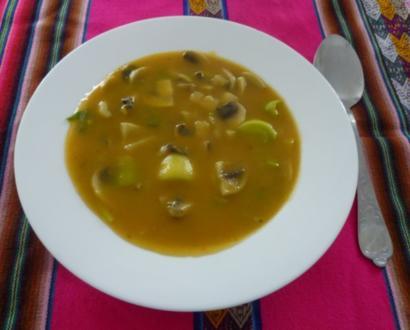 Vegetarisches - Gemüse-Eintopf - Rezept