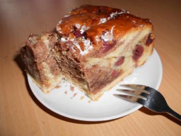 Marmorkuchen mit Kirschen - Rezept