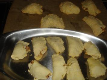 Teigtaschen mit Thunfisch - Rezept