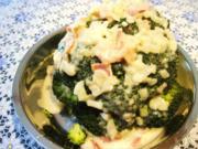 Broccoli mit milder Schinkensoße - Rezept