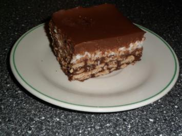 Schokoladige Kokosschnitten - Rezept