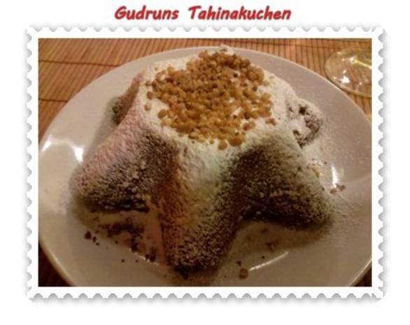Kuchen: Tahinakuchen - Rezept