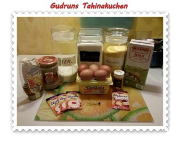 Kuchen: Tahinakuchen - Rezept - Bild Nr. 2