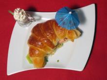 Eisburger vom Briloner Hörnchen mit Erdbeersoße - Rezept