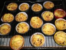 Zitronen-Schoko-Muffins - Rezept
