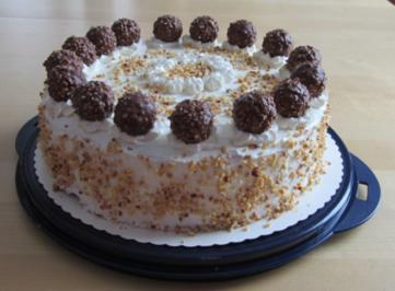 Rocher-Torte - Rezept