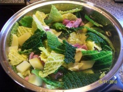 Gemüse: Wirsingeintopf - Rezept