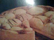 Schwäbischer Apfelkuchen mit Rahmguß - Rezept