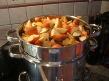 Vorrat: Apfel-Orangen-Gelee - Rezept