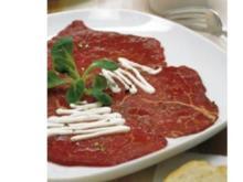 Kleine Gerichte: Carpaccio vom Rinderfilet - Rezept