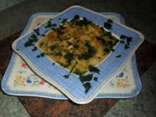 currylinsen mit hühnchen und sahne-eintopf mal anders - Rezept