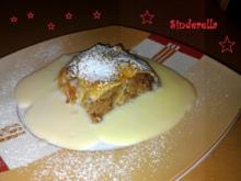 bayrischer Apfelstrudel mit Vanillesoße - Rezept