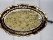 """""""Risi-Pisi"""" à la """"Oòrndrasch"""". Ein locker, körniger Reis mit jungen Erbsen (Rzpt. um 1976) - Rezept"""