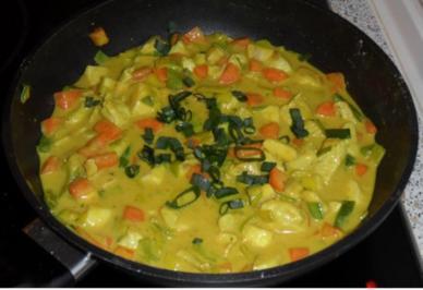 Rezept: Geschnetzeltes mit Banane und Curry
