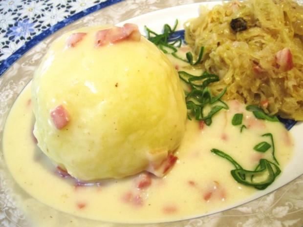 Gefüllte Kartoffelklöße ... - Rezept - Bild Nr. 8
