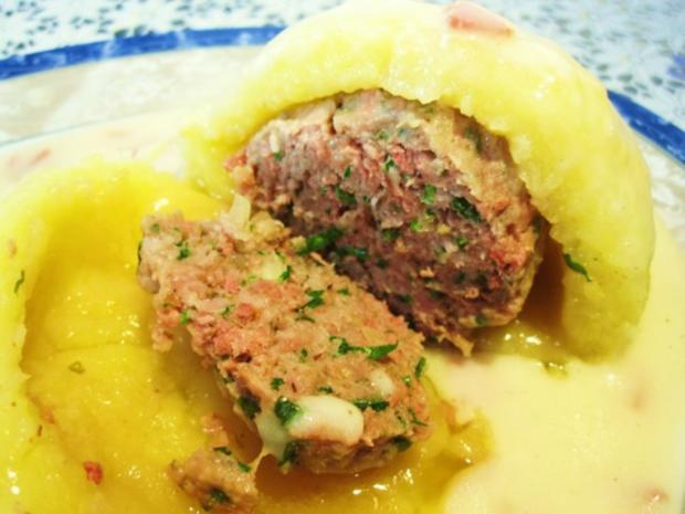 Gefüllte Kartoffelklöße ... - Rezept - Bild Nr. 9