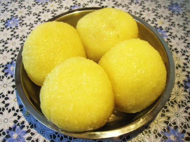 Gefüllte Kartoffelklöße ... - Rezept - Bild Nr. 7