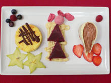 Mousse au Chocolat, Zitronentarte u. Cassis-Senf-Sorbet (Süß - Sauer - Senf) - Rezept