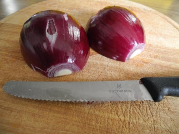 Gemüsebeilage : Geschmorten Chinakohl aus dem Backofen - Rezept - Bild Nr. 3