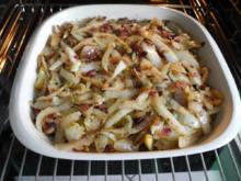 Gemüsebeilage : Geschmorten Chinakohl aus dem Backofen - Rezept
