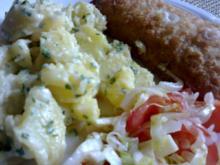 Kartoffelsalat  ( warm )   in fruchtig scharfer Marinade - Rezept