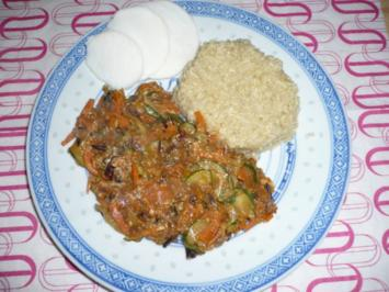Wokgemüse mit Quinoa - Rezept