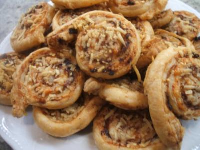 Pikantes Backen: Käs-Schneckers - Rezept