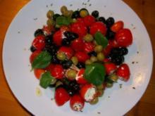 Gefüllte Tomaten mit Schafskäsecreme - Rezept
