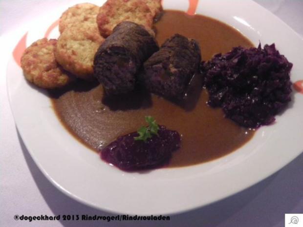 Rinderrouladen in Rotweinsoße - Rezept - Bild Nr. 11