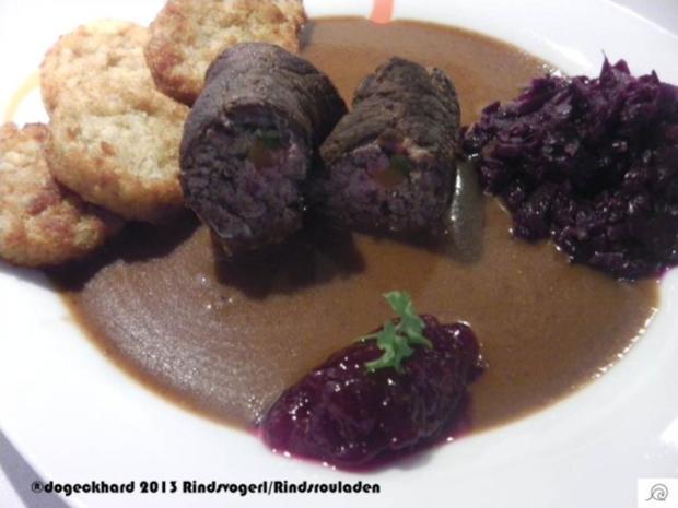 Rinderrouladen in Rotweinsoße - Rezept - Bild Nr. 3