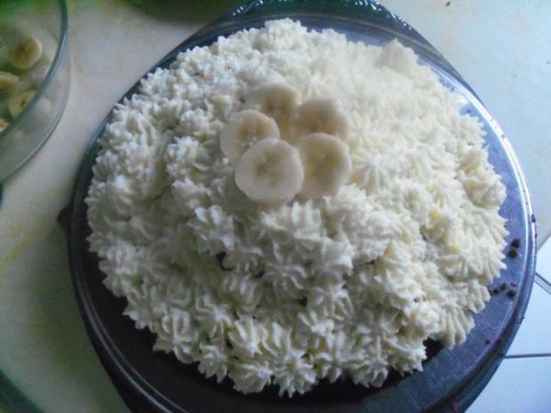Kuchen - Bananenkremkuchen - Rezept - Bild Nr. 6