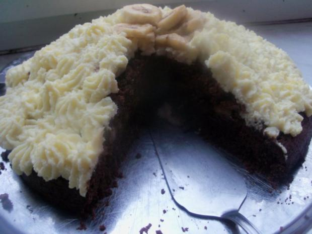 Kuchen - Bananenkremkuchen - Rezept