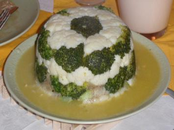 Gemüse: Broccoli-Turm - Rezept
