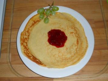 Eierpfannkuchen - Rezept