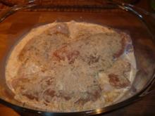 Bedeckte Hähnchnefilet - Rezept