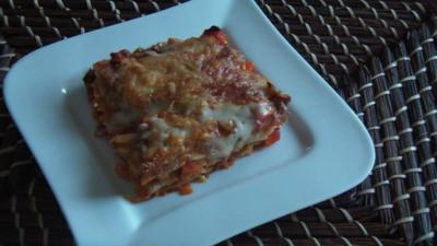 Gemüse- Hack- Lasagne - Rezept