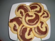 Vanille-Schoggi Rondellen - Rezept