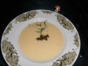 Rezept: Parmesansüppchen mit Pesto>>