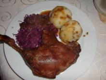 Gefüllte Kartoffelklöße mit gerösteten Zwiebeln à la Heiko - Rezept
