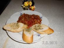 Gemüse-Sauce mit Champignons - Rezept
