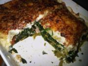 Spinat-Crevetten-Lasagne - Rezept