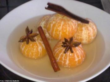 Gewürz-Mandarinen - Rezept