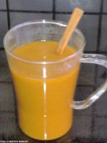 Fruchtiger Sanddornpunsch - Rezept