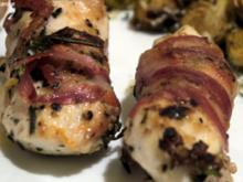 Hähnchenbrust im Pancetta-Mantel - Rezept