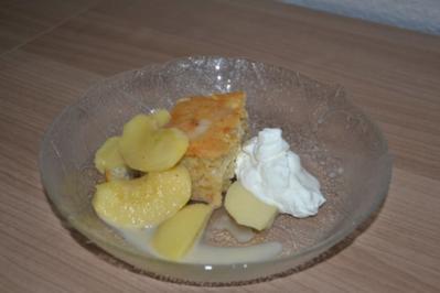 Calvados Apfelspalten in Sahnecaramell - Rezept