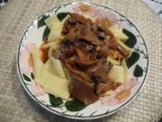 Pilze : Pilz - Gulasch - Rezept