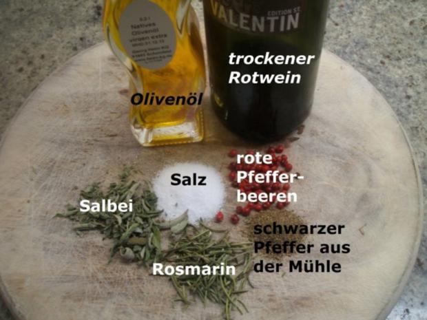 Fleisch: Rinderbeinscheiben - geschmort mit viel Gemüse - Rezept - Bild Nr. 3