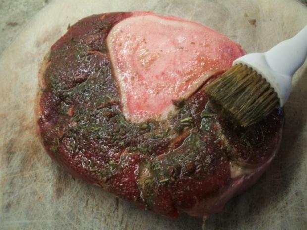 Fleisch: Rinderbeinscheiben - geschmort mit viel Gemüse - Rezept - Bild Nr. 5