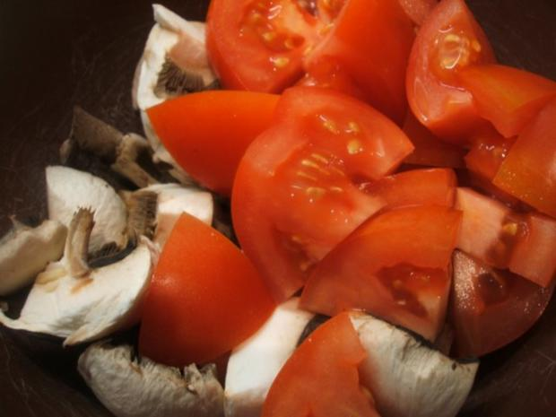 Fleisch: Rinderbeinscheiben - geschmort mit viel Gemüse - Rezept - Bild Nr. 13